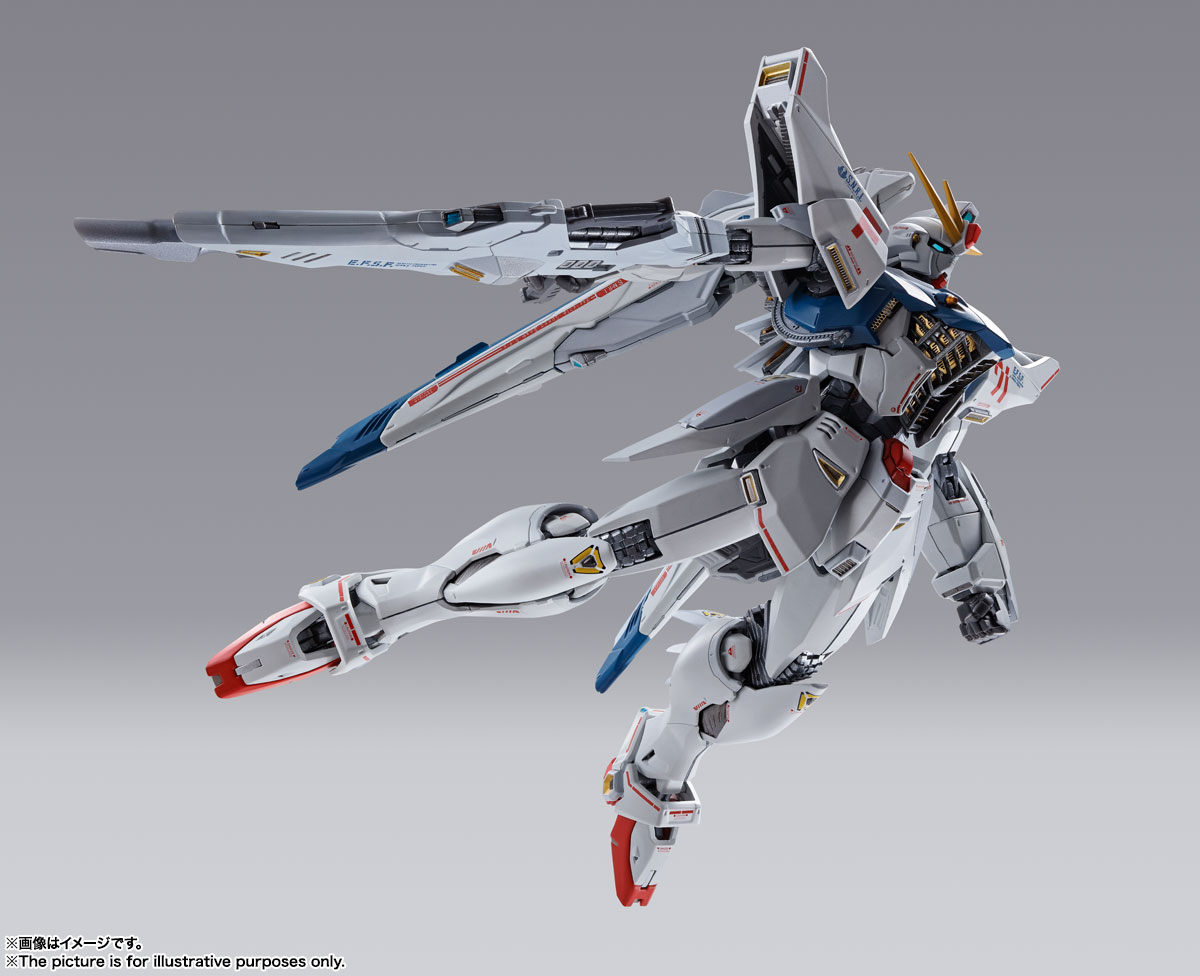 METAL BUILD ガンダムF91 CHRONICLE WHITE Ver. 07