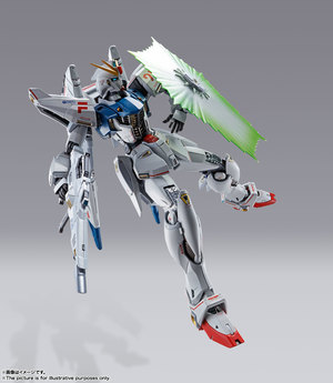METAL BUILD ガンダムF91 CHRONICLE WHITE Ver. 08