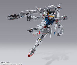 METAL BUILD ガンダムF91 CHRONICLE WHITE Ver. 09
