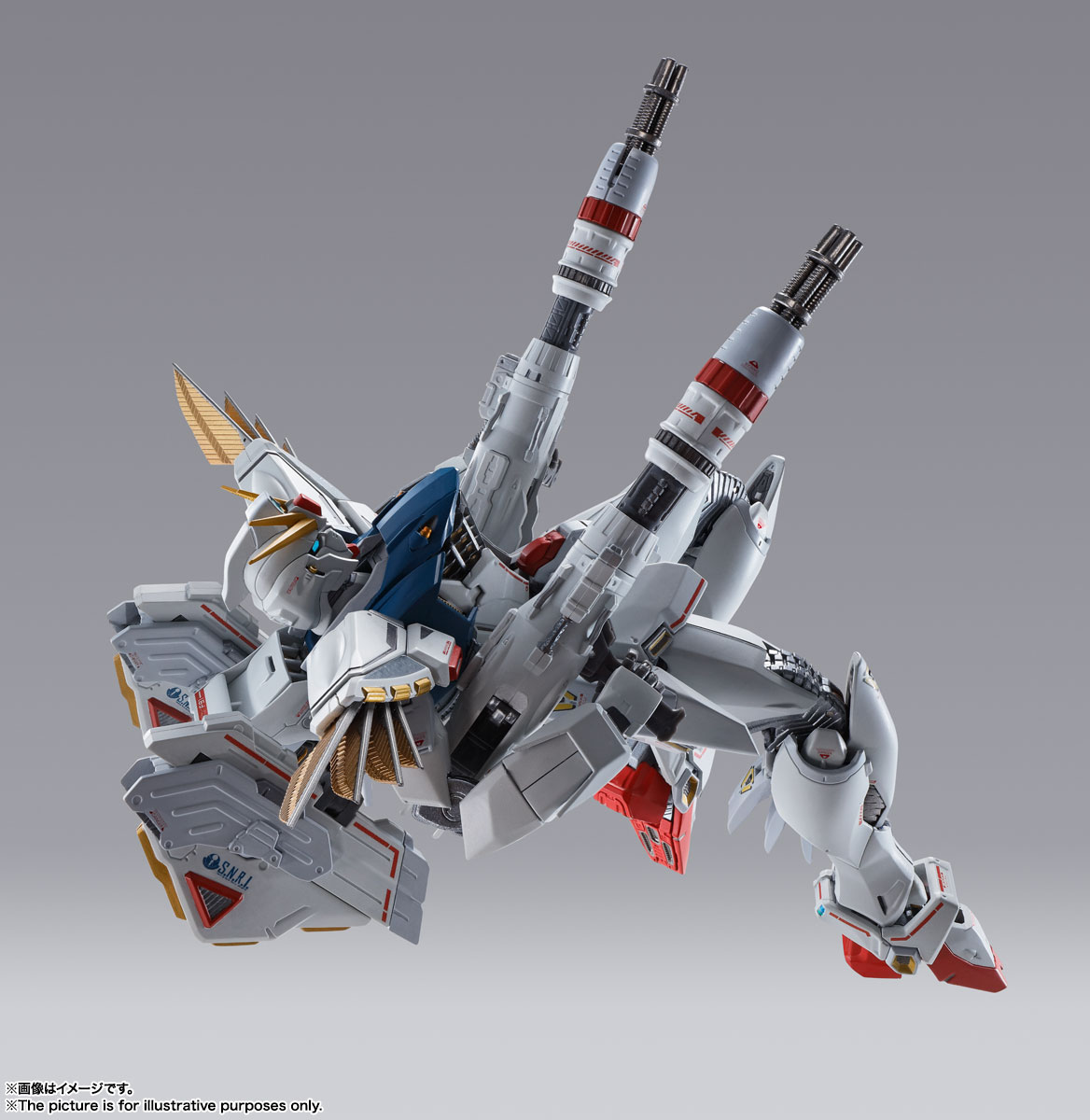 METAL BUILD ガンダムF91 CHRONICLE WHITE Ver. 10