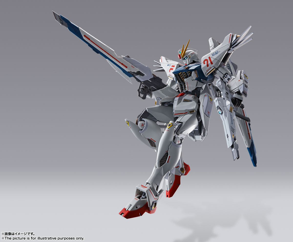 METAL BUILD ガンダムF91 CHRONICLE WHITE Ver. 13