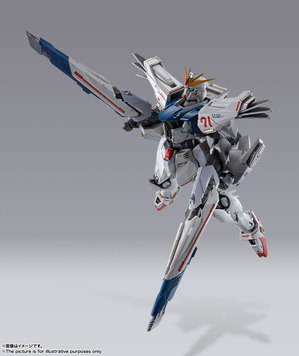 METAL BUILD ガンダムF91 CHRONICLE WHITE Ver. 14