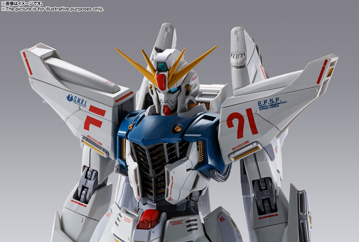 METAL BUILD ガンダムF91 CHRONICLE WHITE Ver. 15