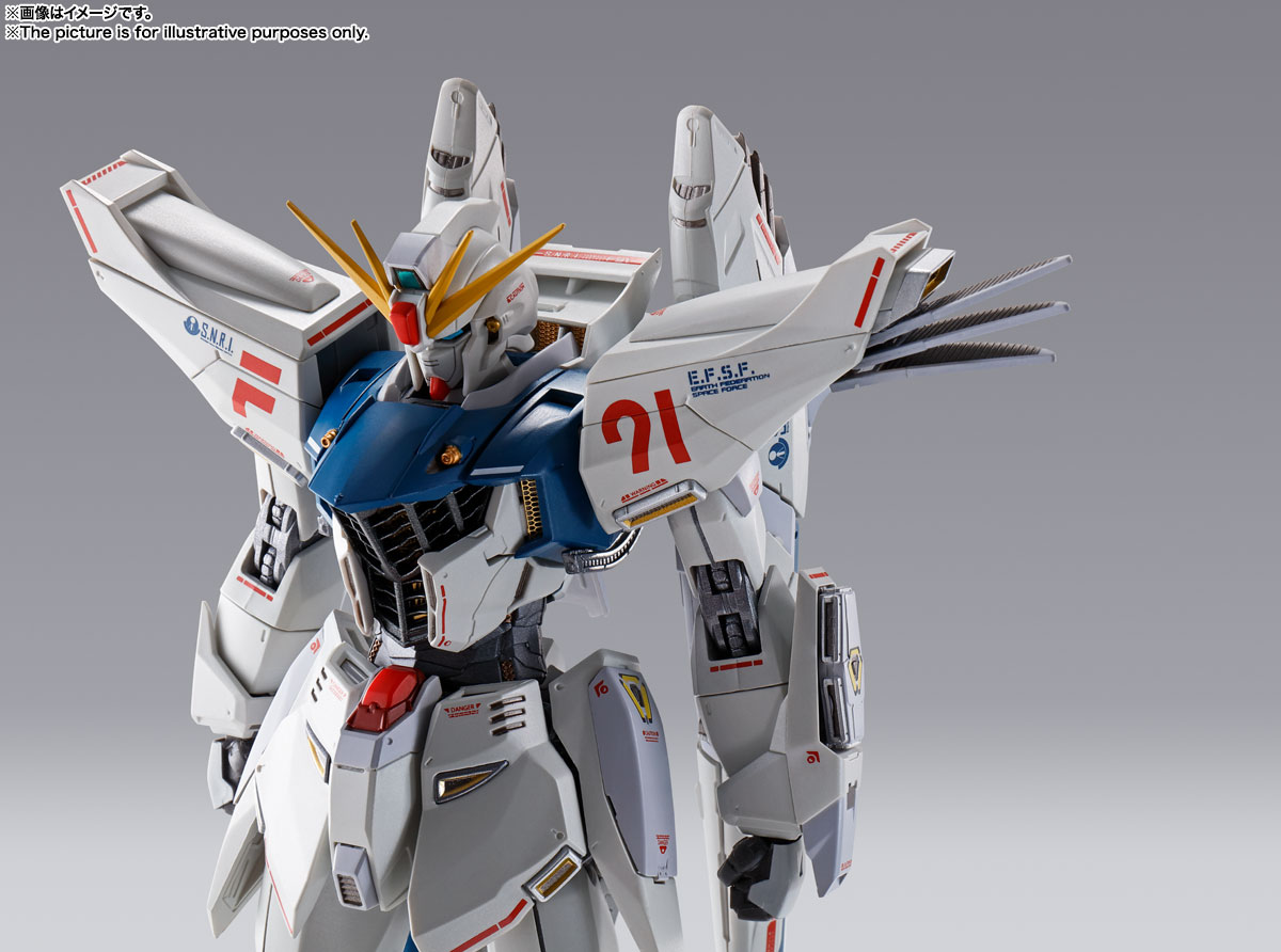 METAL BUILD ガンダムF91 CHRONICLE WHITE Ver. 16